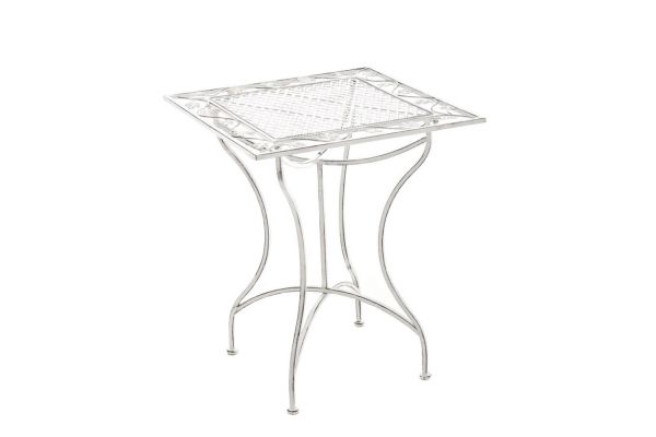 Table de Jardin en Fer Forgé ASINA 60 x 60 cm