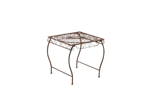 Table de jardin carrée Zarina 50 x 45 cm